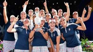 SOLHEIM CUP – Congrats Team USA