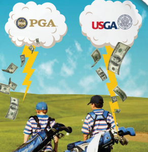"THE Psychic SAYS: ""WITH HELP FROM THE PGA AND USGA, KIDS WILL KEEP GOLF'S PIPELINE FLOWING!"""