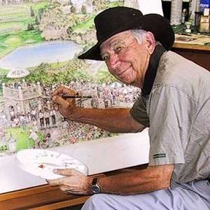 Ageless Artist sets Another Record