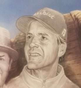 Bud Chapman's Mt. Rushmore Painting Featuring Johnny Snyder