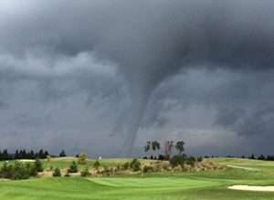 Tornados On The Golf Course