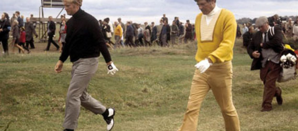 Doug-Sanders-and-Jack-Nicklaus-at-the-1970-Open-Championship-at-St
