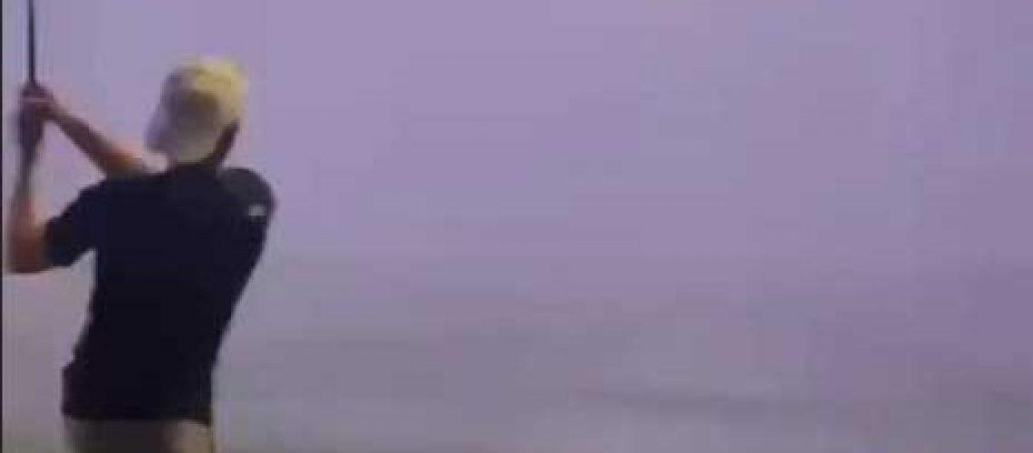 Lighning-Topgolf GolfTales RJSmiley