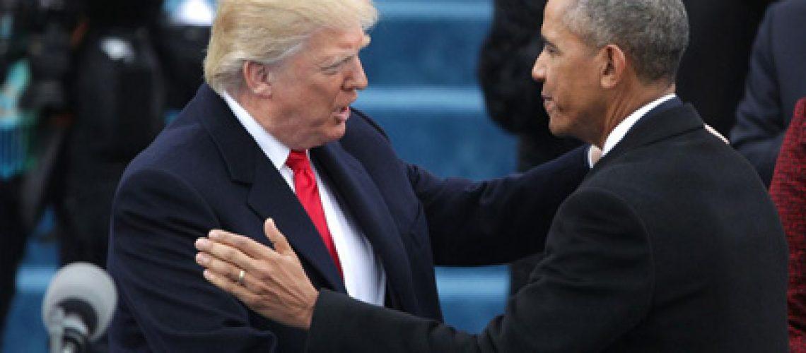 Trump & Obama GolfTales RJ Smiley